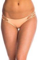 Indah Sasa Solid Matte Criss Cross Bikini Bottom 8145814