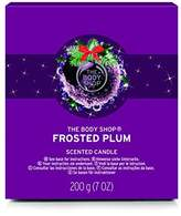 The Body Shop Frosted Plum Candle, Seasonal Edition Scented Candle, 200g