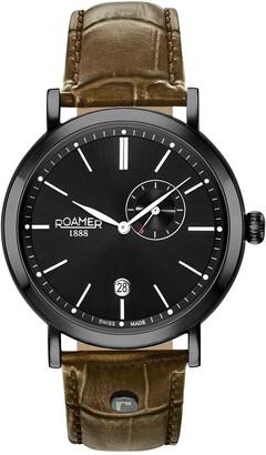 Roamer Men's Vanguard 2-Hand Date Watch
