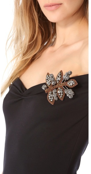 DSquared Dsquared2 Broach Front Dress