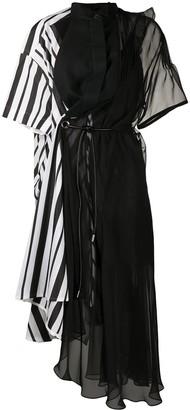 Sacai Deconstructed Dress