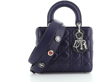 Christian Dior My Lady Bag Cannage Quilt Lambskin