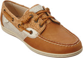 Sperry Women's Songfish Cork & Leather Boat Shoe