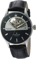Edox Women's 85019 3N NIN Les Vauberts Analog Display Swiss Automatic Watch