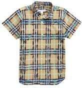 Burberry Clarkey Scribble Check Woven Shirt
