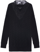 Alexander Wang Lace Knit Pullover