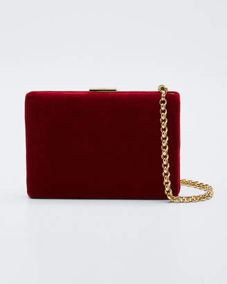 Anya Hindmarch Velvet Card Case/Wallet, Red