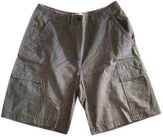 Marina Yachting Grey Cotton Shorts for Women