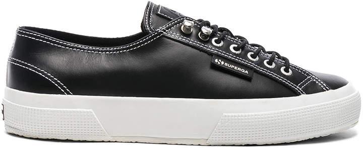 Leather Low BlackFwrd Top Sneaker In X Superga TJc3lKuF1