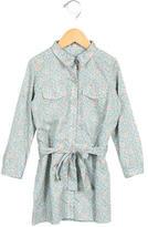 Bonpoint Girls' Floral Print Shirtdress