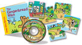 The Gingerbread Man Paperback & CD Learning Set