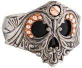 Stephen Webster No Regrets Onyx Skull Ring w/ Tags