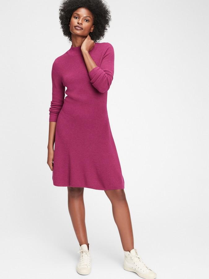 Gap Fit & Flare Rib Dress