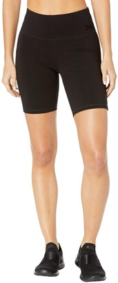 Juicy Couture Women's Essential Cotton Long Bike Short