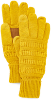 Mustard Patch Touch Screen Gloves