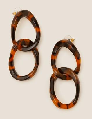 Boden Resin Link Earrings