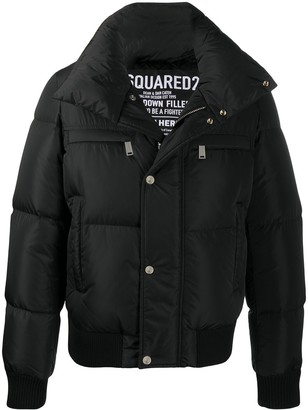 DSQUARED2 Funnel-Neck Padded Jacket