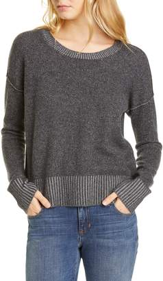 Eileen Fisher Cashmere Blend Box Sweater