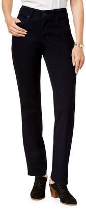 Style&Co. Style & Co. Petite Tummy-Control Straight-Leg Jeans