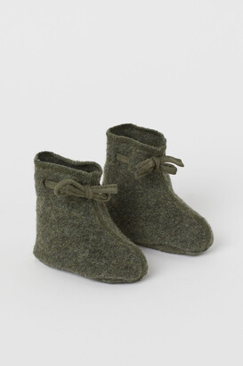 H&M Wool-blend Baby Boots