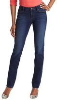 LOFT Tall Curvy Straight Leg Jeans in Venice Blue Wash