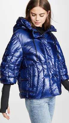 ADD Oversized Hooded Down Jacket