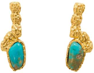 Christina Greene Costa Maya Earrings in Turquoise