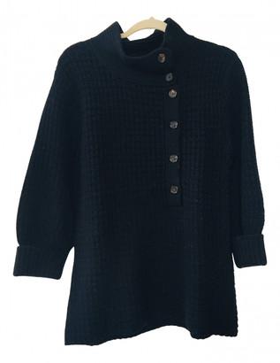 Nicole Farhi Navy Wool Knitwear