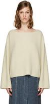 Isabel Marant Ecru Oversized Fly Sweater