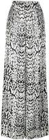 ADAM by Adam Lippes leopard print wide-leg trousers