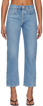 Gold Sign Blue The Relaxed Straight Jeans