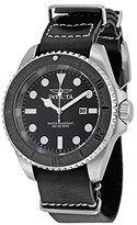 Invicta Men's 17579 Reserve Stainless Steel Watch with Black Leather Band
