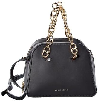 Danse Lente Mini Bowling Leather Shoulder Bag
