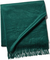 One Kings Lane Cashmere Throw, Holly Green