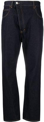 Vivienne Westwood Asymmetric Fastening Slim-Fit Jeans