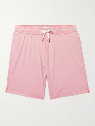 Onia Charles Gingham Seersucker Swim Shorts