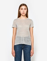 Sheer Crewneck T-Shirt