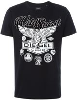 Diesel tiger print T-shirt
