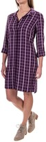 G.H. Bass & Co. Plaid Shirt Dress - Liner Dress, Long Sleeve (For Women)