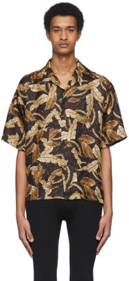Cmmn Swdn Burgundy Kim Leaf Shirt