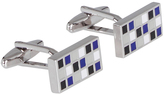 Oxford Cufflinks Checkerboard Gunmtl X