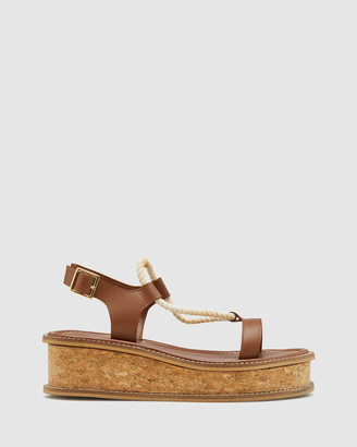 Oxford Women's Platform Heels - Leilani Leather Platform Shoe - Size One Size, 37 at The Iconic