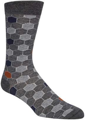 Cole Haan Men Polygon Socks