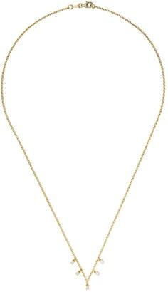 Ileana Makri 18kt Yellow Gold Diamond Embellished Necklace