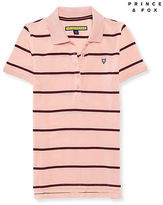 Aeropostale Womens Prince & Fox Feeder Stripe Piqu? Polo Shirt