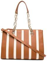 Liu Jo striped tote bag