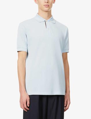 Paul Smith Slim-fit cotton-pique polo shirt