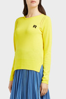 Rochas Cotton-Knit Logo Jumper