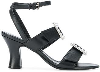 Nicole Saldaña Julia buckled sandals