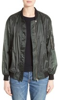 Burberry Women's Mayther Technical Bomber